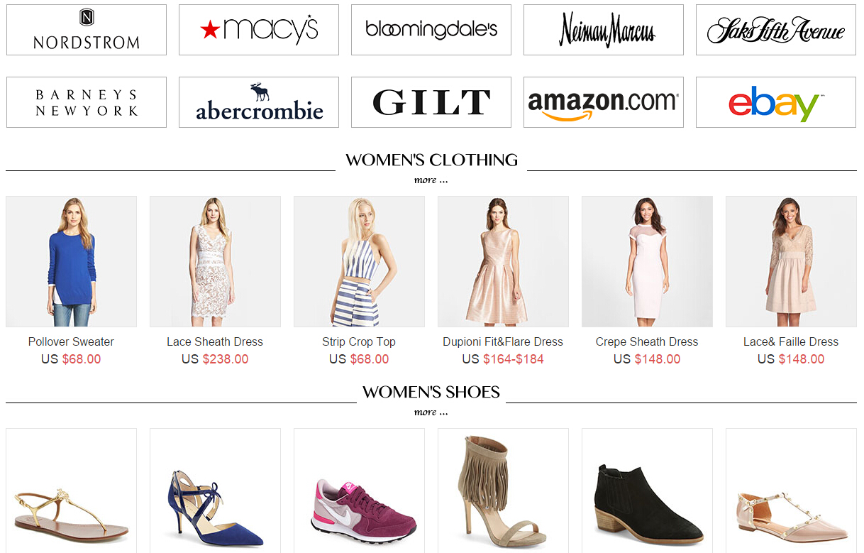 USGoBuy Fashion Brand Shopping Event Include Top Fashion Brand and Stores  in USAOnline shoppers can buy the newest brand products from top brand in  USA ... f0b82bd1572