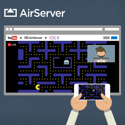 YouTube and AirServer Team Up to Bring iOS 9 Apps and Games