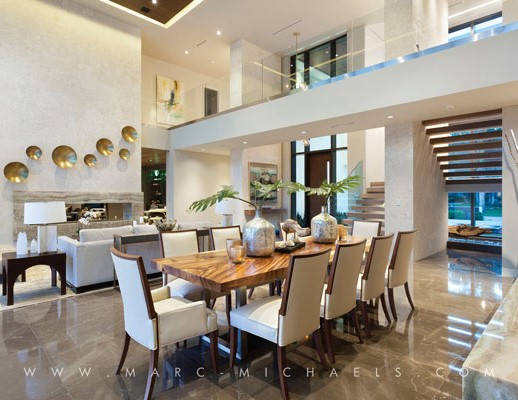 Beau New Modern Boca Raton Home Designed By Marc Michaels Interior Design ...