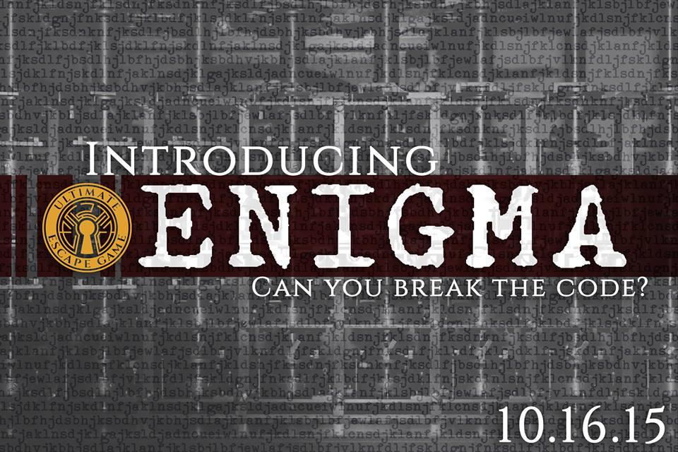 Introducing Enigma Ultimate Escape Game S New Escape Room