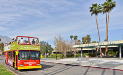 Photo of the iconic double-decker architectural bus tours