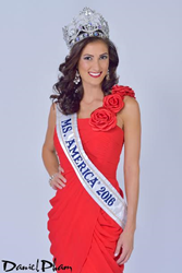 Julie Elizabeth Harman - Ms. America® 2016.