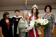 Ms. America 2016 Julie Elizabeth Harman with Tracy Halverson, Suzanne Mulet (Salt Lake County Chair for GOP), Mayor JoAnn Seghini (Midvale UT), and Leesa Price - Founder of Statue of Responsibility.