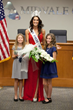 Ms. America 2016 Julie Elizabeth Harman with her daughters, Evelyn Azares and Madelyn Azares.