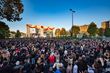 MORE THAN 8,000 SCIENTOLOGISTS gathered in Milan, Italy, Saturday, October 31, to exuberantly mark an historic milestone for the European nation—the largest Ideal Org on the planet—the sleek and modern Church of Scientology of Milan, now transformed to Id