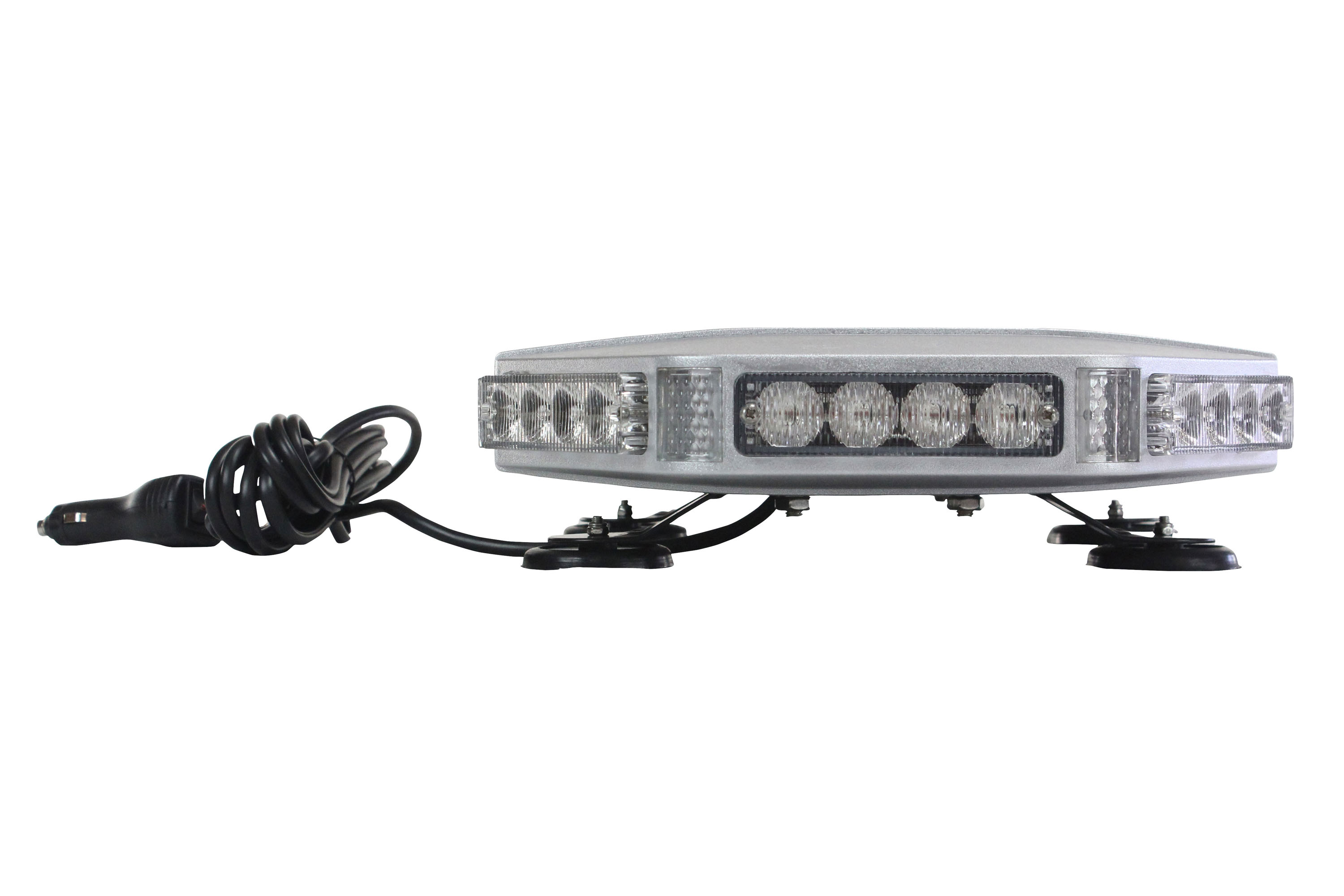 Larson electronics releases 32 watt magnetically mounted mini led 32 watt mini led strobe light bar with magnetic mount aloadofball Gallery