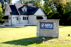 Blitz Media Design's new office is conveniently located to over 2500 Dayton region manufacturers