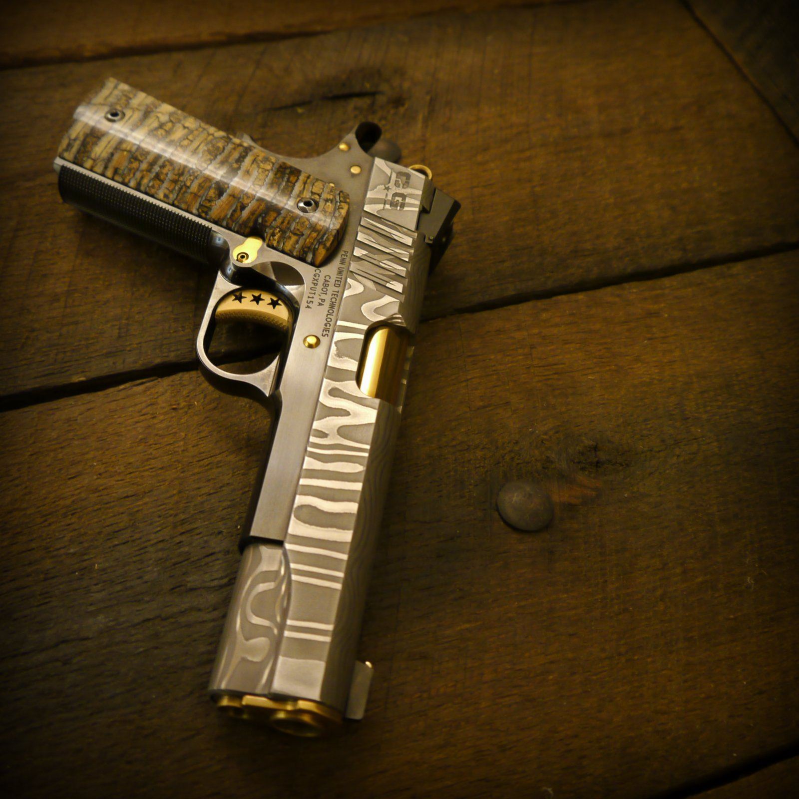 For The Man Or Woman Who Has Everything On Earth Cabot Guns To