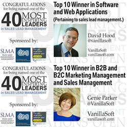 40 most inspiring leaders in sales lead management 2015