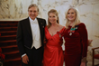 Mr. Albert de Prisco and Mrs. Lisa Niemi Swayze of Palm Beach with Dama Mica Mosbacher of Houston, TX