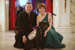 "Special Guest, Service Dog ""Princess Pepper"" of VetDogs of America, with Knight Rev. Christopher Hynes and Veteran Mary Cheyne"