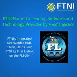 FTNI Named to Food Logistics FL100 List