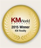 Allstate was awarded the 2015 KM Reality Award by KMWorld