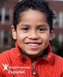 Imagine Learning Español boy logo