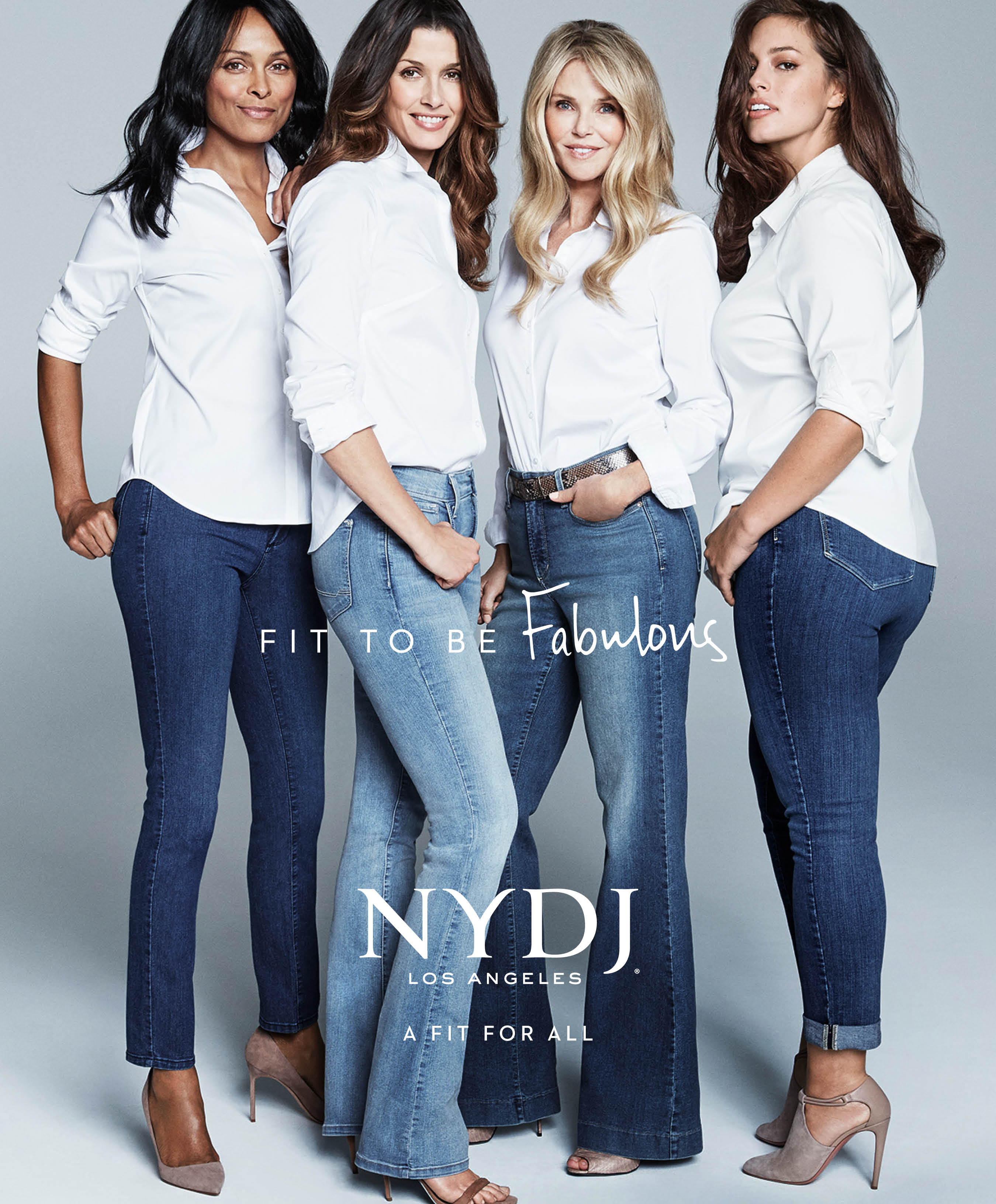 NYDJ'S 2016 Campaign Debuts with Christie Brinkley, Ashley