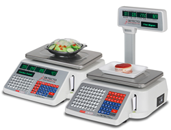 DETECTO's New Price Computing Scales with Integral Label Printers Offer Innovative Features