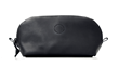 The Curo Dopp Kit—black, oil-tanned leather
