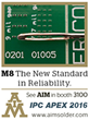 AIM to Highlight Revolutionary M8 Solder Paste at IPC APEX 2016