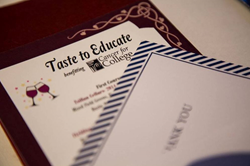 Taste to Educate Menu