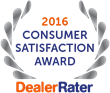 OffLeaseOnly Used Car Dealer 2016 Consumer Satisfaction Award