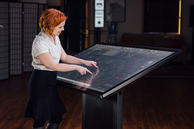 "New 65"" Multitouch Wall and Drafting Table Available from Ideum, the First with 3M™ Touch Technology"