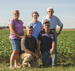 Schmidt Farms is a third generation family farm, operated by Hans and his wife, Jennie, and Hans' brother, Alan and his wife Brenda.