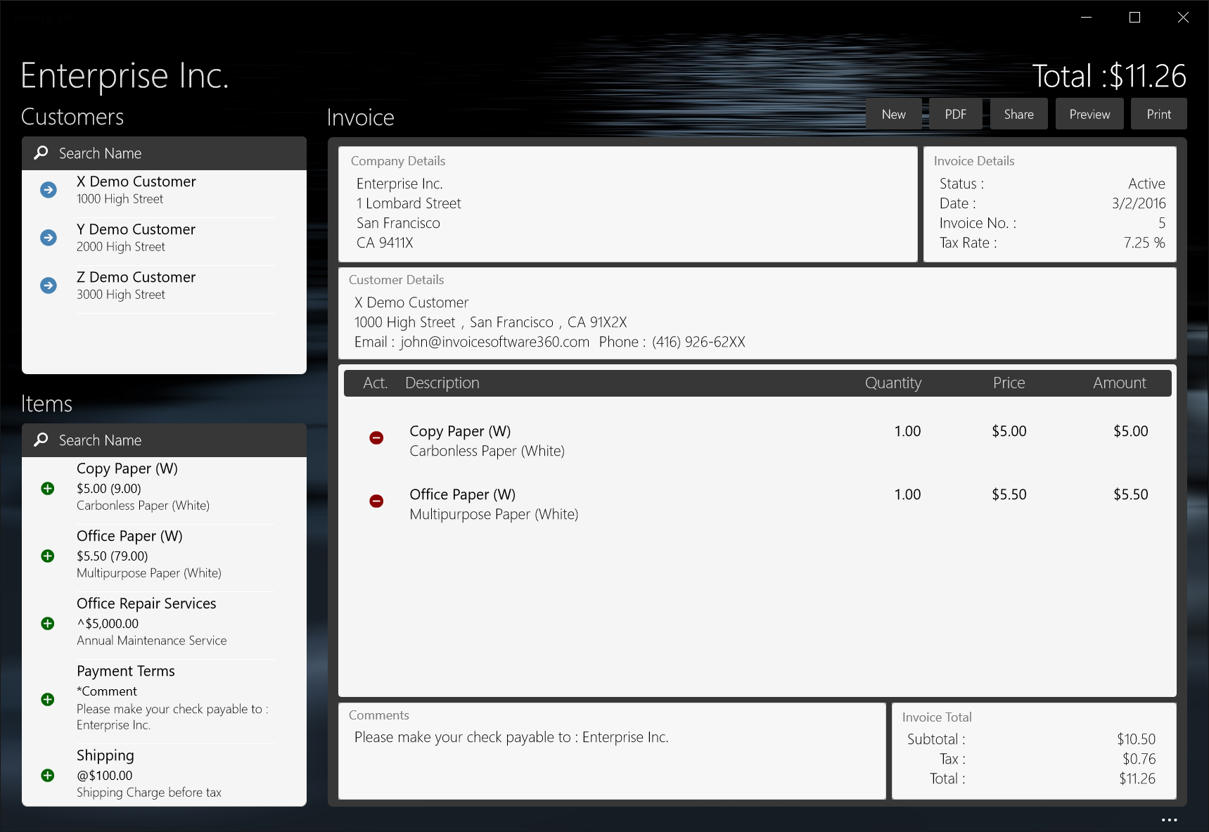 Invoice Embraces Universal Windows Platform And Open Source - Open invoice software