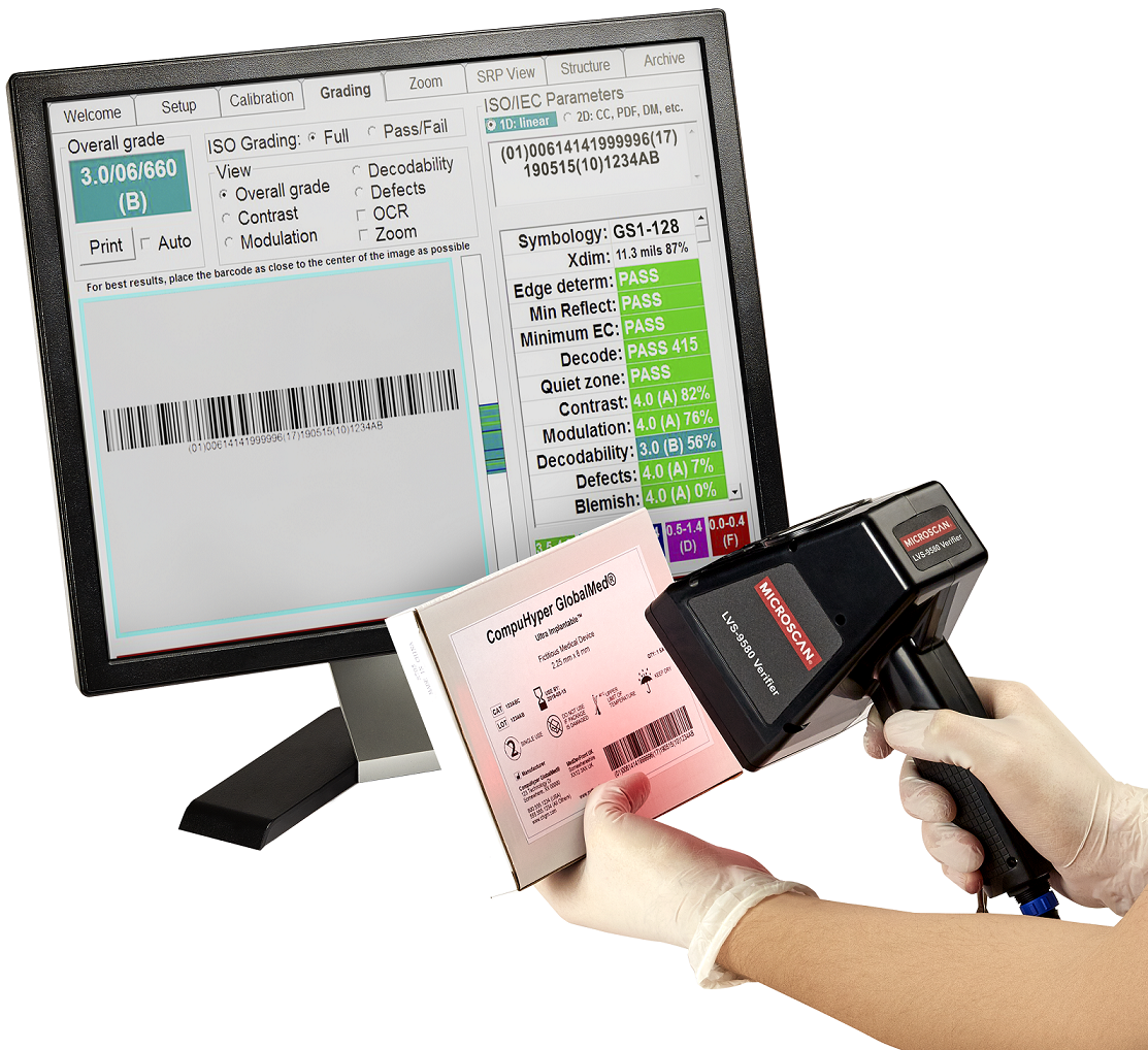 Microscan Demonstrates Lvs 174 Barcode Verifiers For Ensuring