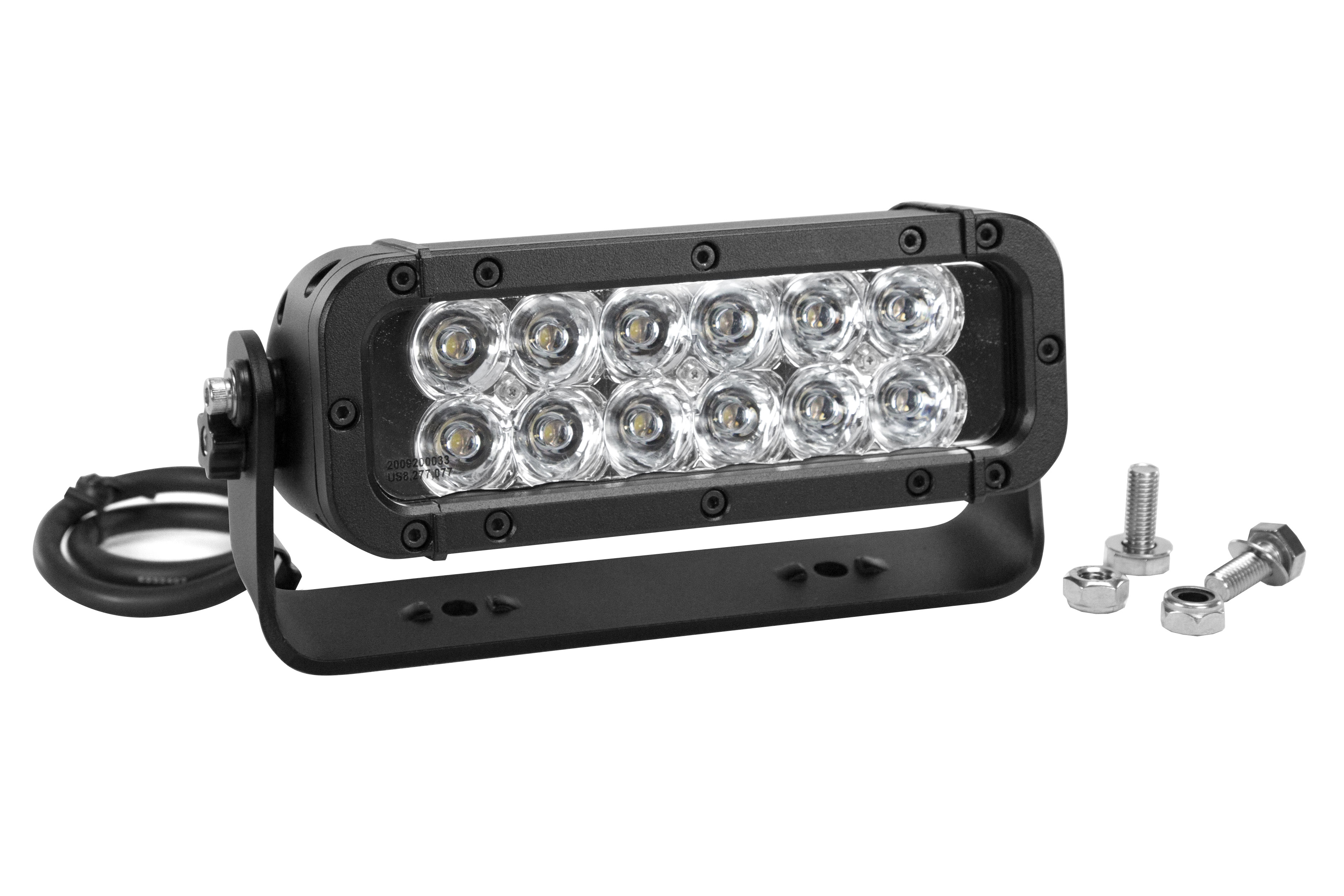 Larson electronics debuts explosion proof light fixtures in new xxx 36 watt led light bar to be featured in the new xxx the return of xander cage filmtrunnion mounted led light bar to be used in new film aloadofball Images