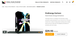 PFS - ProEnergy Cartoon - FCPX Plugins