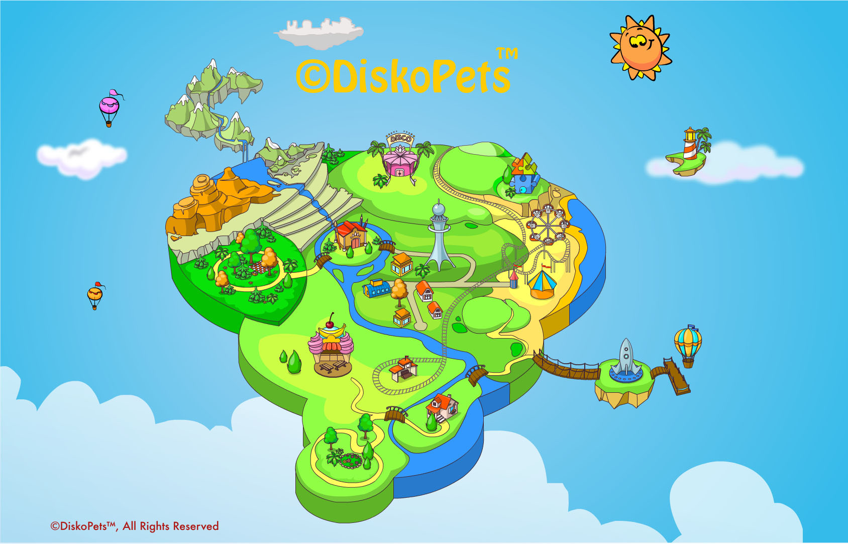 Diskopets delivers the future of interactive education with new diskopets mapdiskopets map diskopets online educational game world gumiabroncs Image collections