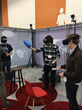 Project Alice demo participants interact with objects during SVVR 2016.
