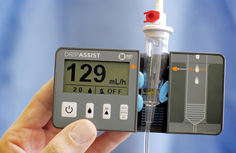 Dripassist Infusion Rate Monitor Unique Low Cost Device