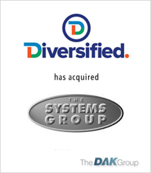 The DAK Group Announces Acquisition of The Systems Group by Diversified