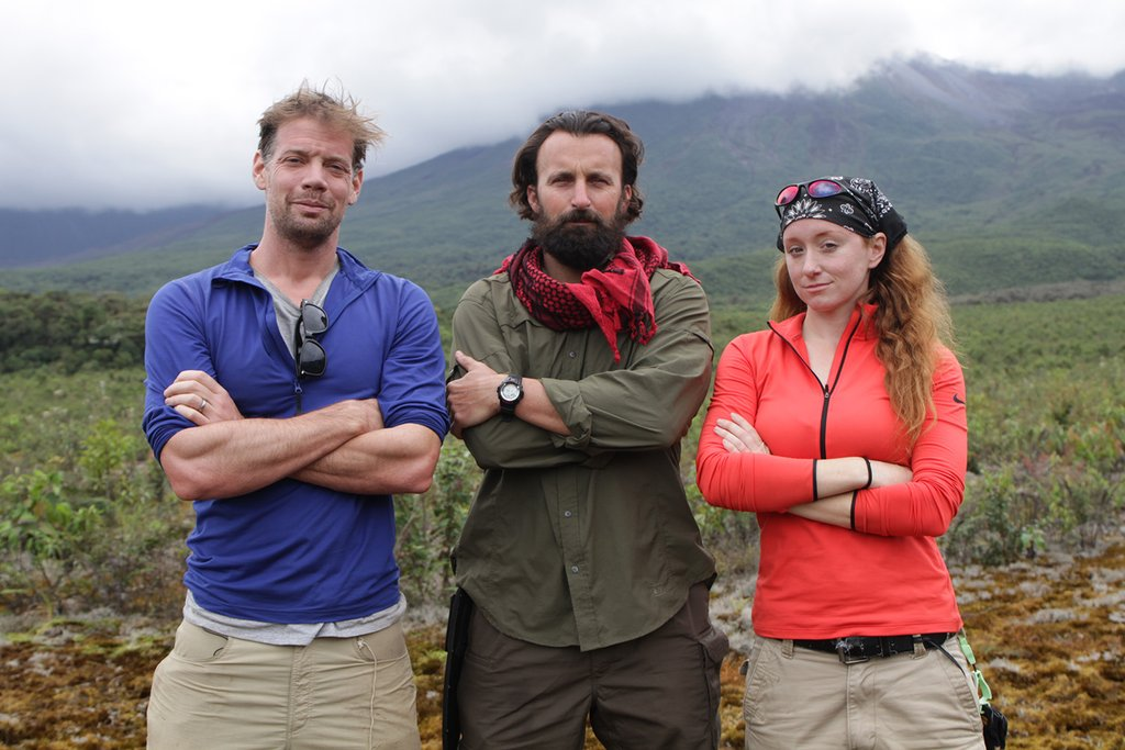 Volcanologist jess pelez featured in new discovery channel series media malvernweather Images