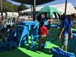 At the championship, Imagination Playground partnered with THE PLAYERS to offer a family and kid-friendly Big Blue Block building oasis, located in the McKenzie Noelle Wilson Foundation Kid Zone.