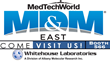 Whitehouse Laboratories Returns To MD&M East And Participates In USP 661 Panel