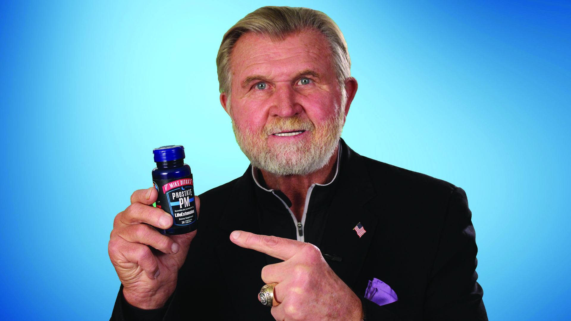 mike ditka how tall