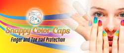 The Snappy Color Caps is designed to keep finger and toes protected - and more.