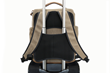 Bolt Backpack—rear slot for convenient wheelie suitcase transport