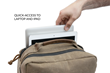 Bolt Backpack—quick-access, padded laptop pocket