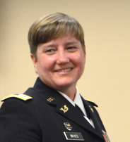 Captain Tanya Mayes received her law degree from Stetson in 2003.