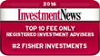 Fisher Investments Named a Top 10 RIA