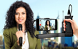 IK Multimedia Launches iKlip A/V - The First Smartphone Broadcast Mount for Capturing Pro-Quality Audio for Mobile Video