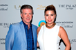 Alan Thicke and his wife walk the Red Carpet at the 2015 Coach Woodson Las Vegas Invitational