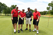 Railroad Construction Company, Inc.'s foursome at the L. Robert Keller Memorial Invitational Golf Tournament, Canoe Brook Country Club, Summit, NJ., golfing to raise funds to benefit Eva's Village.