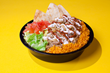 The Halal Guys famous chicken-and-rice platter