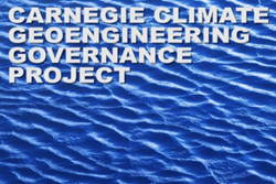 Carnegie Climate Geoengineering Governance Project. PHoto Dean Hochman (CC) tinyurl.com/zpx49p2