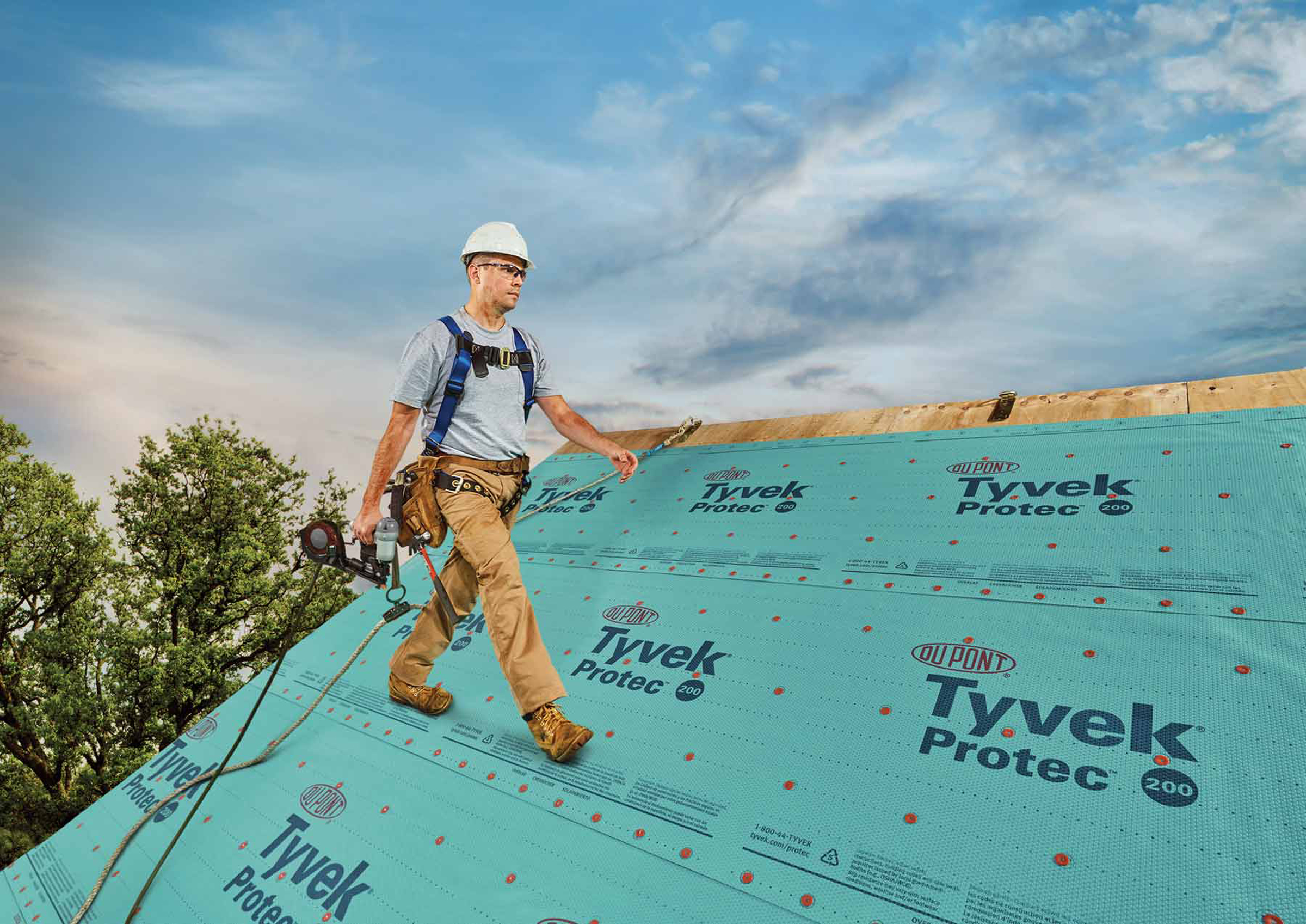 Dupont Launches New Tyvek 174 Protec Roofing Underlayments