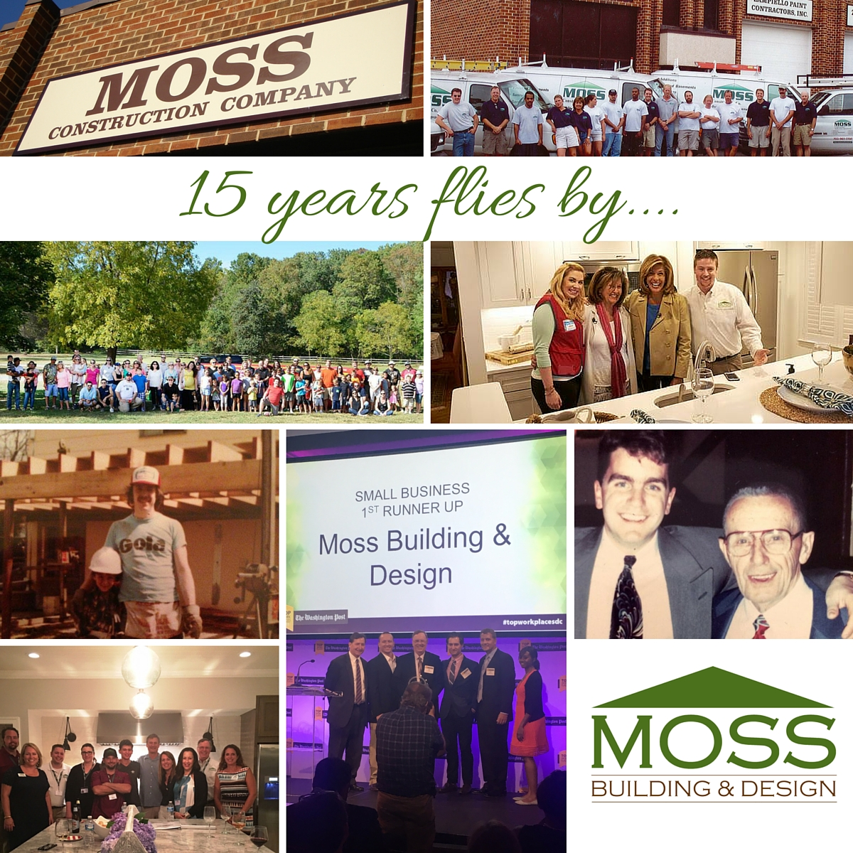 Moss Building And Design Celebrates 15 Years As Top Northern Virginia Contractor